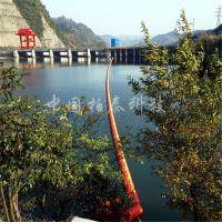 凉水河电站拦污排新式塑料浮筒 红色塑料拦漂设备效果显著