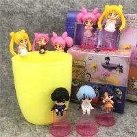 日本卡通美少女战士 月野兔 第二弹 盒蛋 杯缘子 背挂 全8款盲盒