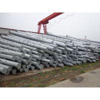 双面热浸锌防腐钢管杆出售 220KV及以下电力钢杆 嘉鹏图纸定制电力钢管杆