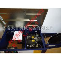 半自动打包机 陶瓷配件打包机 低台打包机-济南天鲁机械