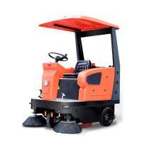 电动驾驶式扫地车半封闭减震清扫车多功能环保车沃尔机械直销