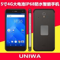 现货新款手机5.0寸智能手机IP68防水4g正品军工三防手机外贸手机