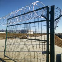监狱刀刺钢网墙 监狱围栏护栏网