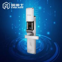 不锈钢智能指纹锁家用防盗门大门指纹密码锁电子锁磁卡锁感应锁