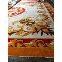 新西兰羊毛手工地毯定制图案新颖