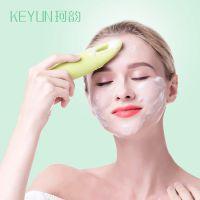 硅胶双面洁面仪温和卸妆眼部按摩家用电动洗脸仪美容敏感肌洗脸仪