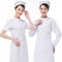 定制批发医院护士服 短袖白色立领工作服 长袖月嫂母婴中心外套