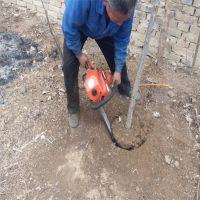 园林苗圃一直带土球挖树机 体积小汽油轻便起苗机