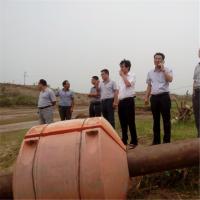 吸沙船管线浮体挖沙船浮筒港口扩建工程