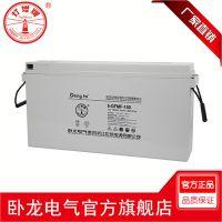 卧龙/灯塔 F系列通信行业备用蓄电池 前置端子铅酸蓄电池