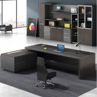 上饶老板桌厂家直销办公家具办公桌总裁桌简约现代大班台主管经理桌
