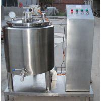 大冶200L鲜牛奶杀菌机牛奶奶吧专用巴氏消毒设备多少钱一台