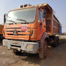 山西忻州市供应多台北奔后八轮自卸车,矿山用,品质优,选择性大