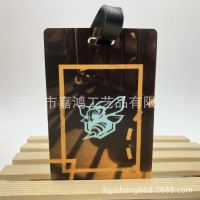 订做篮球图案行李牌 印刷UV高清旅行牌 PVC软胶吊牌
