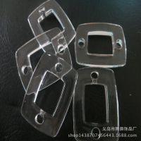 厂家直销 亚克力透明珠子 双孔长方镂空珠 diy散珠批发厂