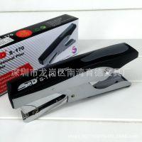 批发正品香港旗文STD手握式钳式加厚订书器S-170订书机 订45页
