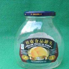 定制宏华玻璃酱菜瓶出口厂家300ml双耳玻璃酱菜瓶