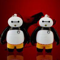 BS-620 功夫熊猫大白钥匙扣 led发光发声挂件创意礼品 车挂件饰品