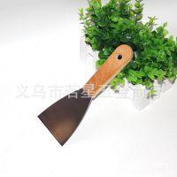 3寸木柄油灰刀 烧烤摊用刀 清洁刀 墙壁填缝刮腻子刀