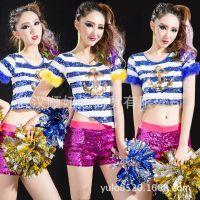 少女时代啦啦队服装体操服舞蹈表演服拉拉队服装健美操演出服装