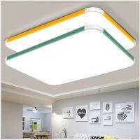 LED吸顶灯 客厅灯具大气现代简约遥控卧室长方形书房餐厅阳台灯饰