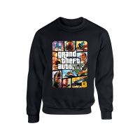 GTA GTA5 游戏卫衣 侠盗猎车5 侠盗车手圆领套头卫衣潮款