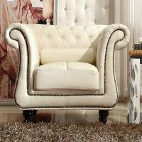 美式纯实木沙发北欧全橡木单人沙发客厅家具