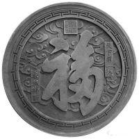 济南厂家专业定制水泥仿古青砖地面砖 别墅四合院墙壁砖雕