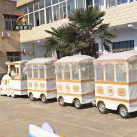 重庆无轨火车童星游乐户外游乐园设备项目全新造型