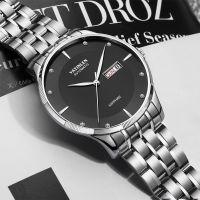 经典腕表时尚男士手表 瑞士进口全自动双日历机械表 防水男表批发