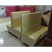 餐厅软体卡座沙发火锅店双面卡座板式沙发供应咖啡厅休闲沙发卡座