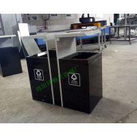 环畅学校垃圾桶款式图片 校园垃圾桶规格 分类垃圾箱生产厂