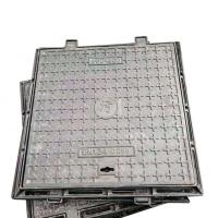 【厂家直销】600*600mm-C250球墨铸铁井盖 园林 市政 道路 小区 方形井盖