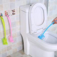 双面加厚长柄去死角马桶刷厕所刷刷子卫生间清洁弯曲缝隙刷卫生