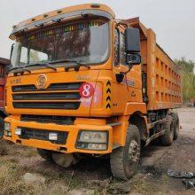 陕汽德龙二手后八轮380马力,5.8米货箱,山西煤矿专用车型,按方拉