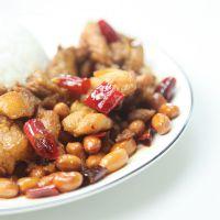 广东穗乐优谷招牌川菜辣子鸡150g快餐便当速冻方便饭