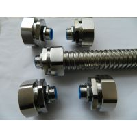 西安福莱通不锈钢端式接头_Φ20-M25金属软管接头价格