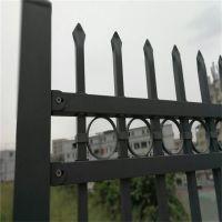 供应黑色锌钢院墙栅栏