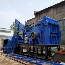 大型废钢金属破碎机产量 废旧家电破碎机环保处理设备 易拉罐粉碎机生产线