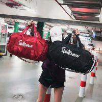 男行李包商务出差短途旅行袋大容量韩版旅游包情侣手提健身包潮
