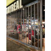 龙岗海航城商铺透明水晶折叠门定制上门测量安装承接卷帘门维修