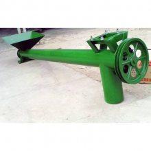 省时省力的螺旋提升机 适用于野外流动作业的物料输送机 润丰机械