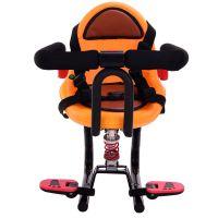 儿童电动车座椅减震前置椅子电瓶车宝宝电动踏板车电动车前置座椅