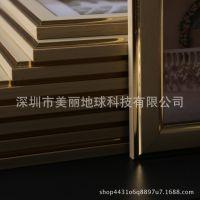 九宫格照片墙创意客厅实木画框组合卧室相框墙7寸定制作版画直销