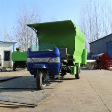 环保型电动养猪撒料车 一次可喂百头牛羊的喂料车
