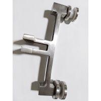 高升不锈钢 立柱配件 U槽玻璃夹 楼梯配件