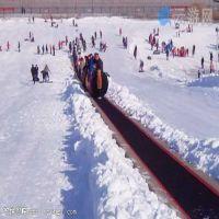 滑雪场魔毯安全很重要,长城魔毯生产厂家批发零售雪地魔毯