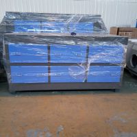 河北厂家供应活性炭吸附箱印刷专用除味设备