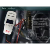 蓄电池检测仪带打印  电瓶检测仪 电动车汽车蓄电池测试仪