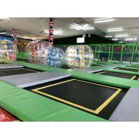 四川内地厂家定制室内超级蹦床 免费规划设计 厂家直销空气蹦床配件